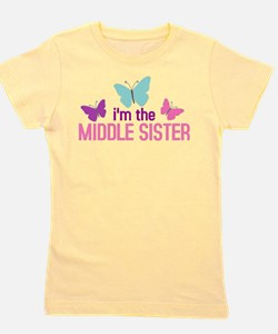 Cute Siblings Girl's Tee