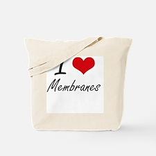 I Love Membranes Tote Bag
