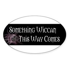 Pagan Pride Oval Decal