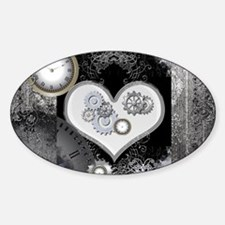 Steampunk, wonderful heart Decal