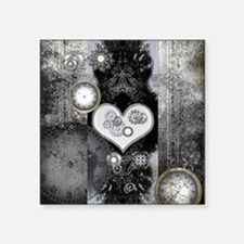 Steampunk, wonderful heart Sticker