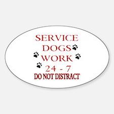 SERVICE DOG Decal
