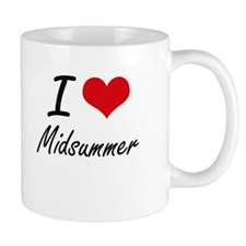 I Love Midsummer Mugs