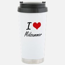 I Love Midsummer Travel Mug