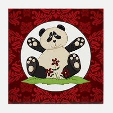 PANDA BEAR Tile Coaster