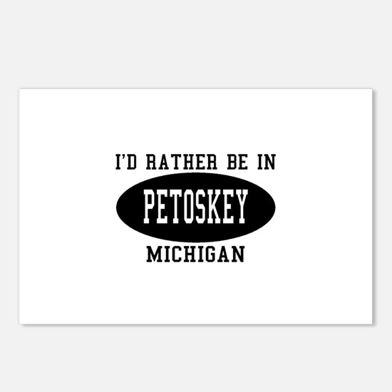 I'd Rather Be in Petoskey, Mi Postcards (Package o