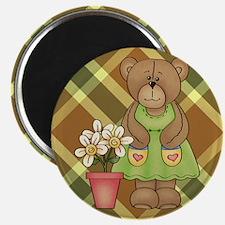 BEAR IN DRESS Magnets