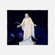 LDS Christus Throw Blanket