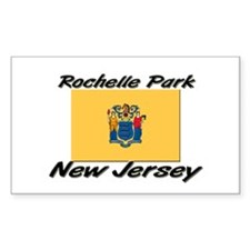 Rochelle Park New Jersey Rectangle Decal