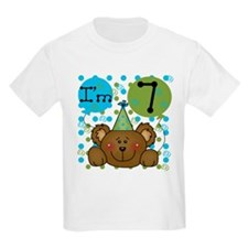Bear 7th Birthday T-Shirt