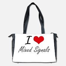 I Love Mixed Signals Diaper Bag