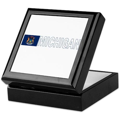 Michigan Keepsake Box