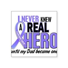 """Father in law is my hero Square Sticker 3"""" x 3"""""""