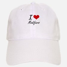 I Love Modifiers Baseball Baseball Cap