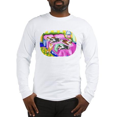 Sheltie Pink Comfort Long Sleeve T-Shirt