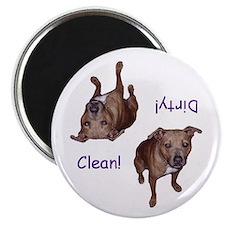 PitBull Dishwasher Magnet Dirty/Clean