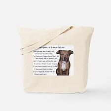 Teach me, Protect me Tote Bag