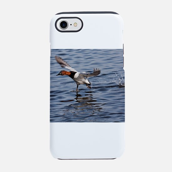 Canvas back taking flight iPhone 8/7 Tough Case