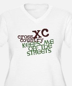XC Keeps off Streets © Plus Size T-Shirt