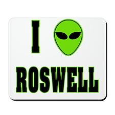 I Love Roswell Mousepad