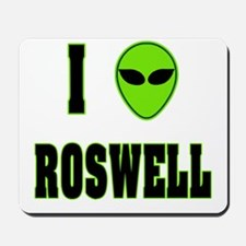 I Love Roswell Mousepad