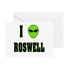 I Love Roswell Greeting Cards (Pk of 10)