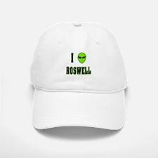 I Love Roswell Baseball Baseball Cap