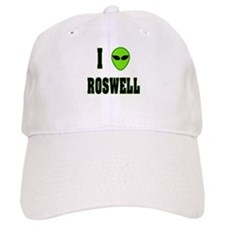 I Love Roswell Baseball Cap