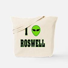 I Love Roswell Tote Bag