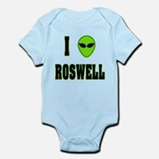 I Love Roswell Infant Bodysuit