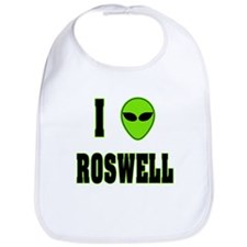 I Love Roswell Bib