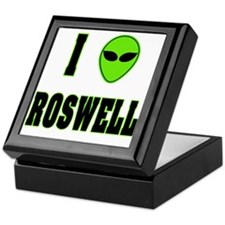 I Love Roswell Keepsake Box