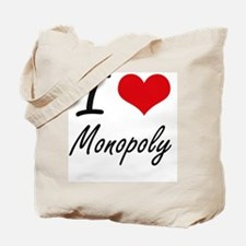 I Love Monopoly Tote Bag