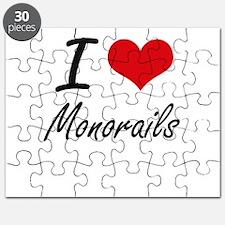 I Love Monorails Puzzle