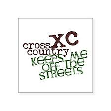 XC Keeps off Streets © Sticker