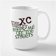 XC Keeps off Streets © Large Mug