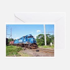 Spirit Of Conrail Greeting Card