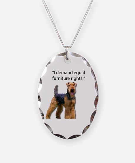 Cool Airedale terrier Necklace