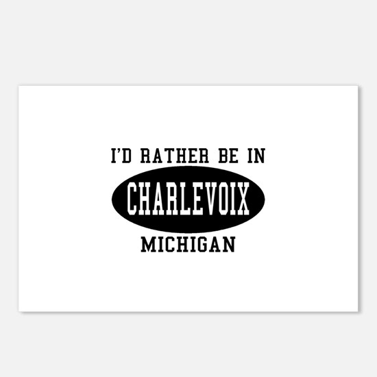 I'd Rather Be in Charlevoix, Postcards (Package o