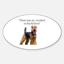 Funny Thief Sticker (Oval)