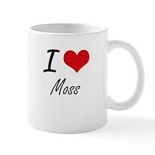I Love Moss Mugs