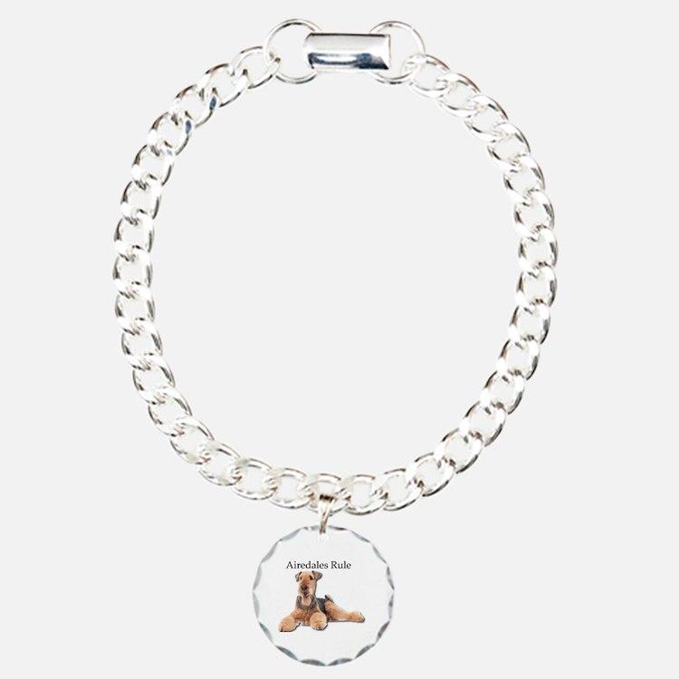 Cute Airedale Bracelet