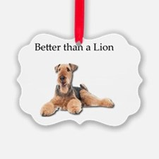 Cool Airdale terrier Ornament
