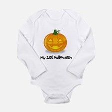 Cute Trick treating Long Sleeve Infant Bodysuit