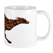 Greyhound Single Runner Mug/Coffee Beans