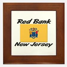Red Bank New Jersey Framed Tile