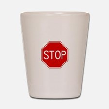 Stop Sign Shot Glass