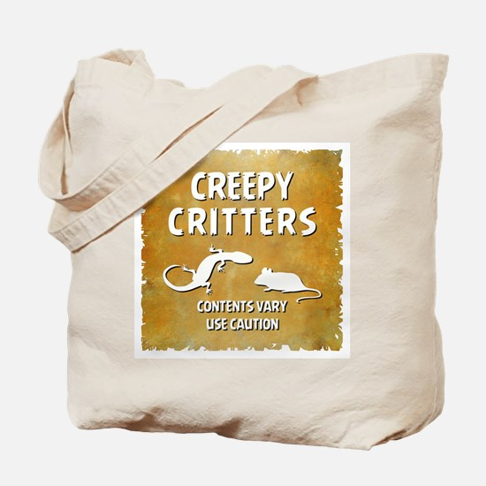 CREEPY CRITTERS Tote Bag