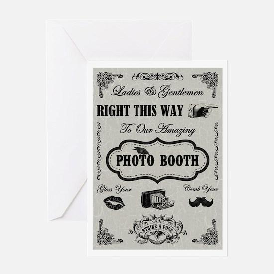 PHOTOBOOTH Greeting Card