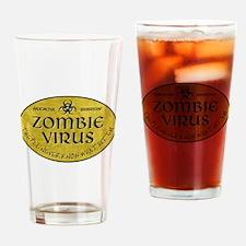 ZOMBIE VIRUS Drinking Glass